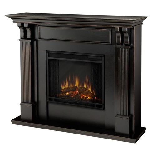 Real Flame Ashley Indoor Electric Fireplace - White