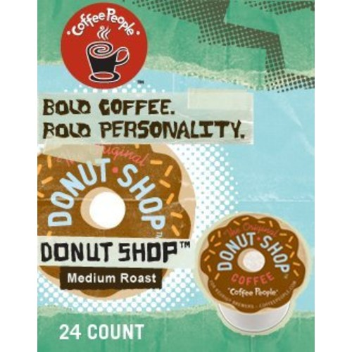 The Original Donut Shop Regular Keurig Single-Serve K-Cup Pods, Medium Roast Coffee, 24 Count [Regular, 24 Count]