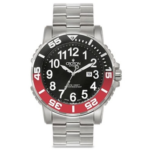 Croton Men's Stainless Steel Wristwatch