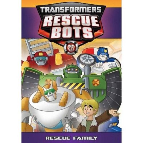 Transformers Rescue Bots:Rescue Famil (DVD)