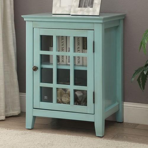 Largo Antique Single Door Cabinet,Multiple Colors