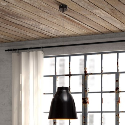Bronze Ceiling Lamp in Black byZuo Era