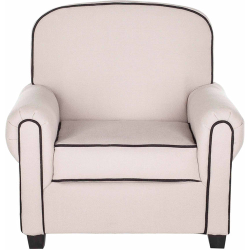 Safavieh Kids Tiny Tycoon Taupe Childrens Club Chair