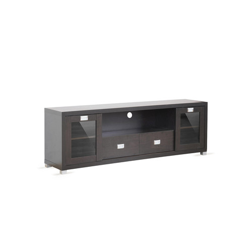 Gosford Brown Wood Modern TV Stand by Design Studios