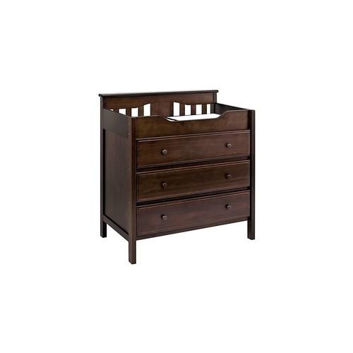 DaVinci 3-Drawer Changer Dresser, Espresso [Espresso]