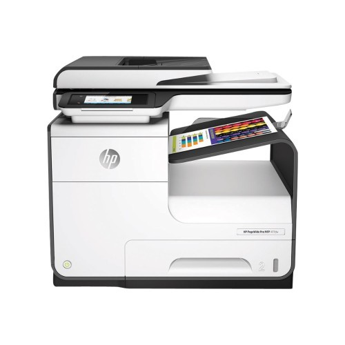 HP Inc. PageWide Pro 477dw - Multifunction printer - color - ink-jet - Legal (8.5 in x 14 in) (original) - A4/Legal (media) - up to 55 ppm (copying) - up to 55 ppm