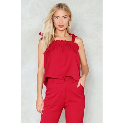 Crazy Little Thing Called Love Tie Top