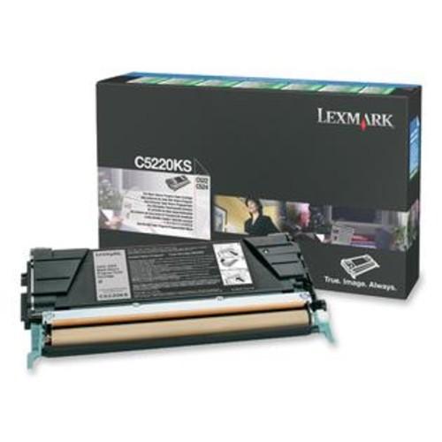 Lexmark Black Return Program Toner Cartridge - Lexmark - C5220KS