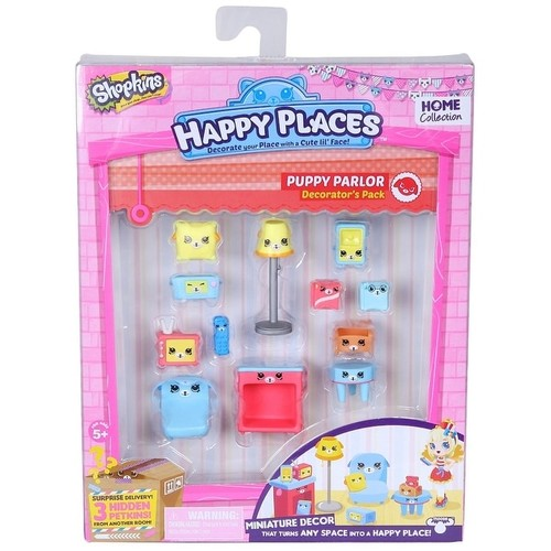 Shopkins Decorator Pack Puppy Parlor Playset - multi