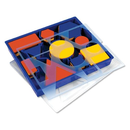 Learning Resources Attribute Blocks - Desk Set in Tray