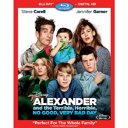 Alexander and the Terrible, Horrible, No Good, Very Bad Day Blu-Ray Combo Pack (Blu-Ray/Digital HD)