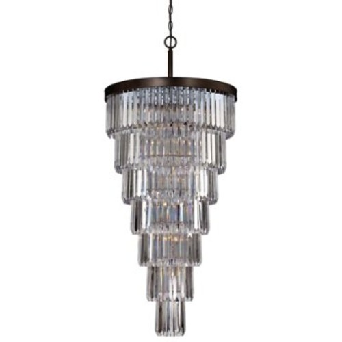 Tierney 19-Light Chandelier [Finish : Burnished Bronze]