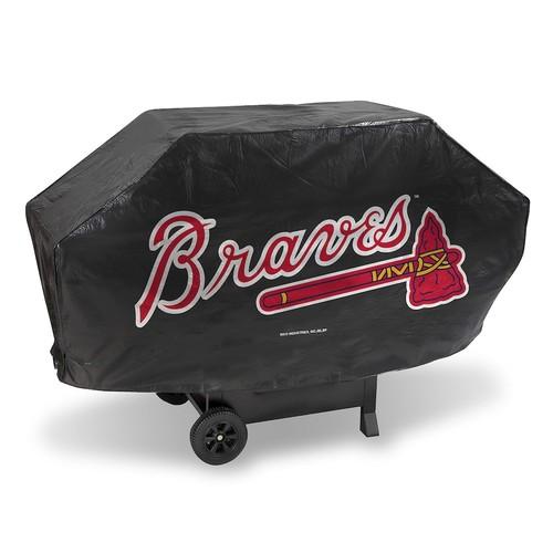 MLB Deluxe Grill Cover [Atlanta Braves]