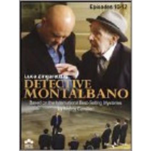 Detective Montalbano: Episodes 10-12 [3 Discs] [DVD]