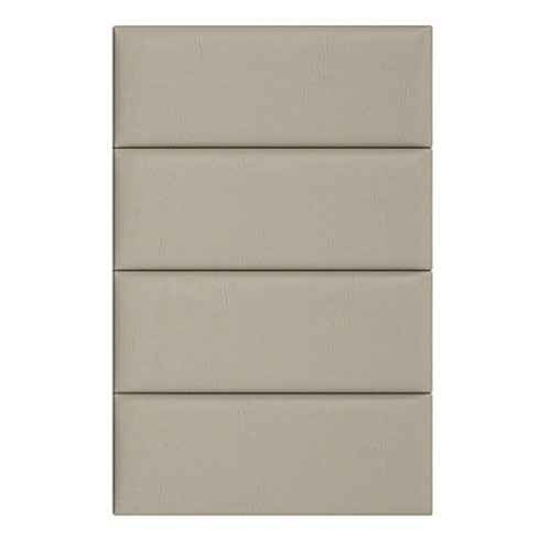 Vant 30-Inch x 46-Inch Vinyl Upholstered Headboard Panels in Dusty Taupe