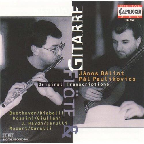 Flte & Gitarre: Original Transcriptions [CD]