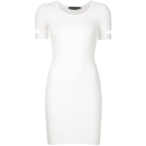 ALEXANDER WANG Slit Sleeve Mini Dress