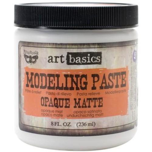 Prima Marketing Art Basics Modeling Paste, 8 fl.oz., Opaque Matte
