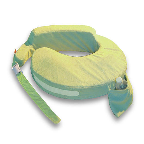 My Brest Friend Deluxe Wearable Nursing Pillow - Green