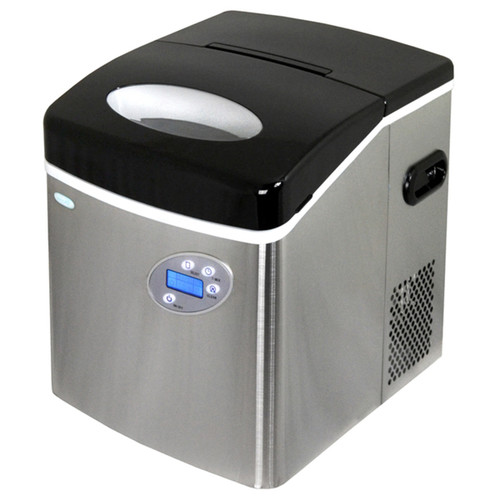 Air Appliances Stainless Steel Portable Ice Maker