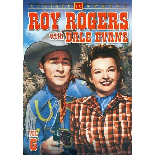 Roy Rogers with Dale Evans, Vol. 6 [DVD]
