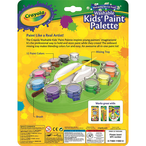 Crayola Washable Paint Palette