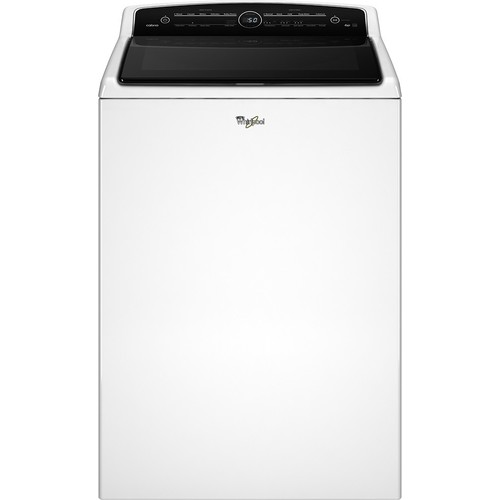 Whirlpool - Cabrio 5.3 Cu. Ft. 26-Cycle High-Efficiency Top-Loading Washer - White