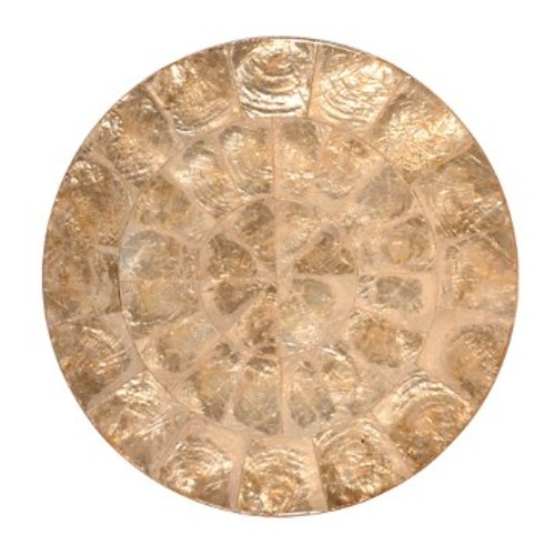 Round Capiz Placemat