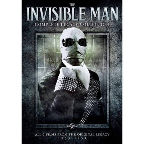 The Invisible Man: Complete Legacy Collection [3 Discs]