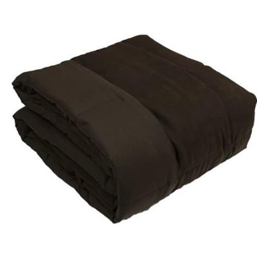 Luxlen Throw Blanket; Chocolate