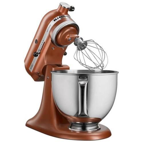 KitchenAid - Artisan Tilt-Head Stand Mixer - Copper Pearl