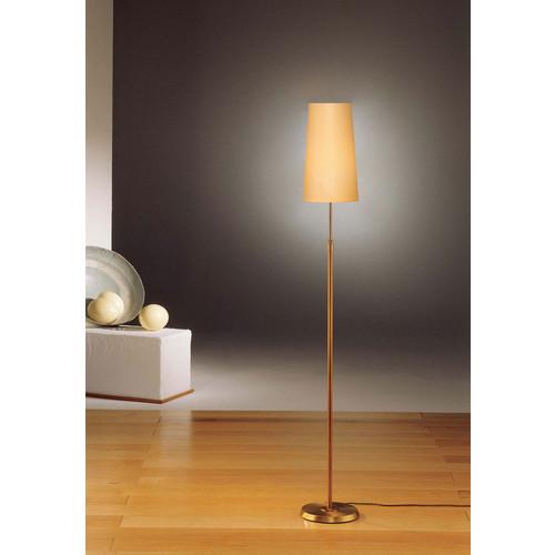 6354 Adjustable Floor Lamp [Shade Type : KPNR - Narrow Kupfer; Finish : 6354 AB - Antique Brass]