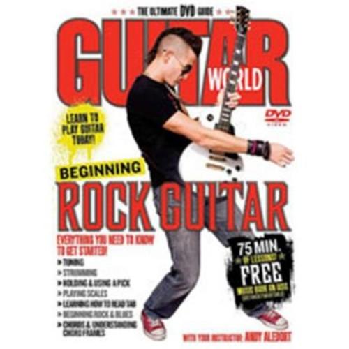 Alfred Guitar World- Beginning Rock Guitar - Music Book (ALFRD35724)