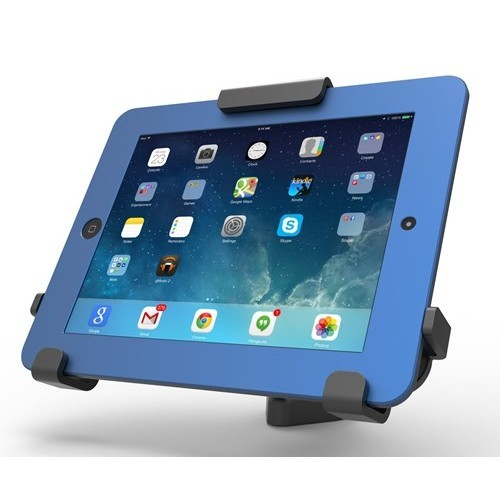 Compulocks Brands Tablet Rugged Case Holder - Locking Stand for iPads and Tablets in Rugged Cases (820BRCH)