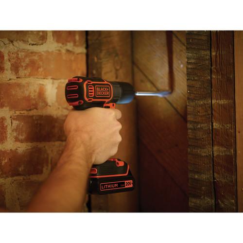 Black & Decker 20 V MAX Lithium Drill/Driver With Autosense Technology