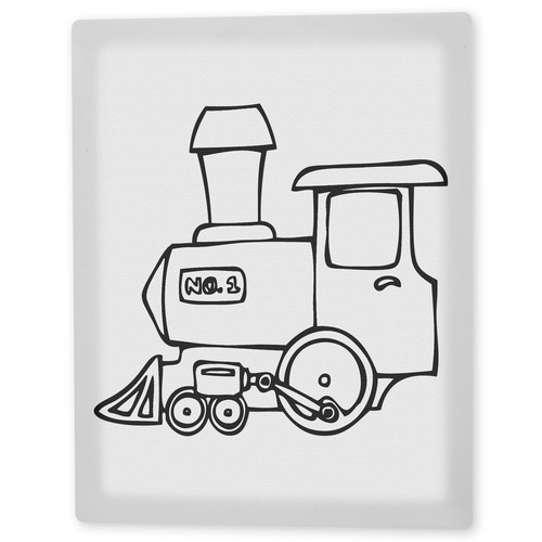 Trademark Global 'Choo Choo Train' Canvas Art