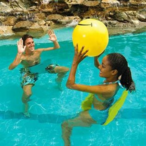 Aqua Cell Aqua Saddle Pool Float, Blue
