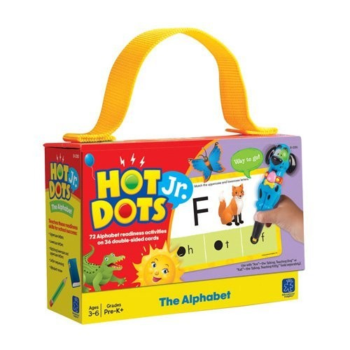 Educational Insights Hot Dots Jr. Cards - The Alphabet