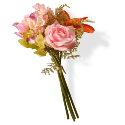 Artificial Mixed Blossom Bundle Pink 13