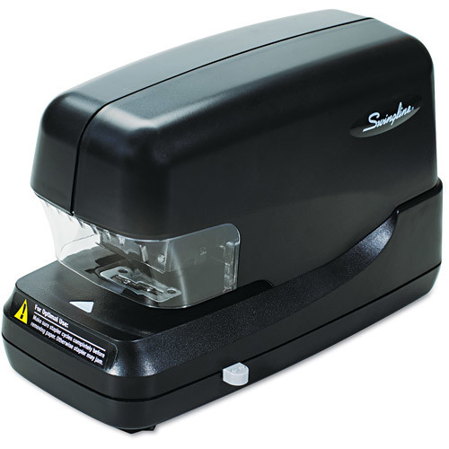 Swingline 69270 High-Capacity Flat Clinch Electric Stapler with Jam Release, 70-Sheet Cap, Black