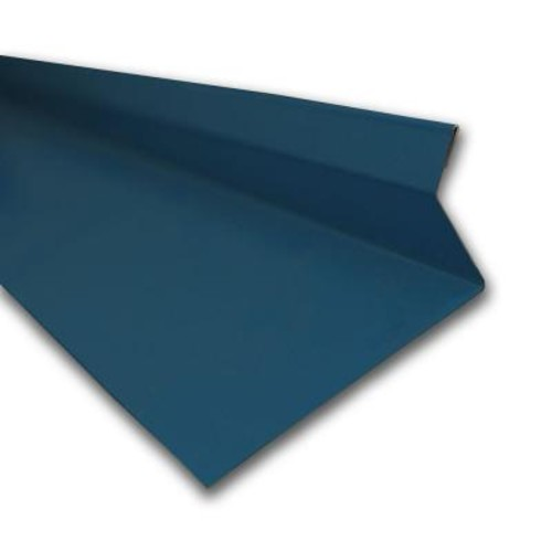 Metal Sales Drip Cap in Ocean Blue