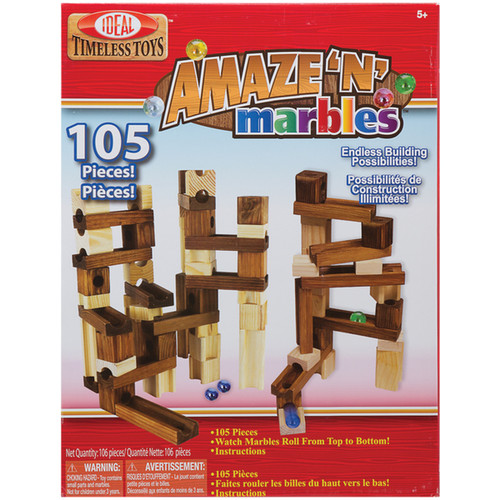 Slinky Building Blocks & Sets Amaze N Marbles 105pc