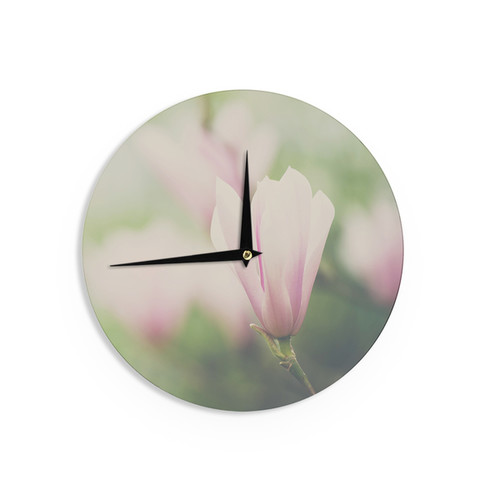 KESS InHouse Robin Dickinson 'Just Married' Wall Clock