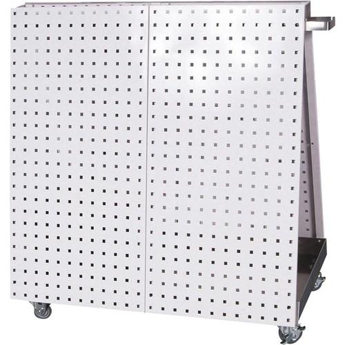 Triton LocBoard Mobile Tool Cart  White, 18 Sq. Ft. of Storage, Model# LBC-18