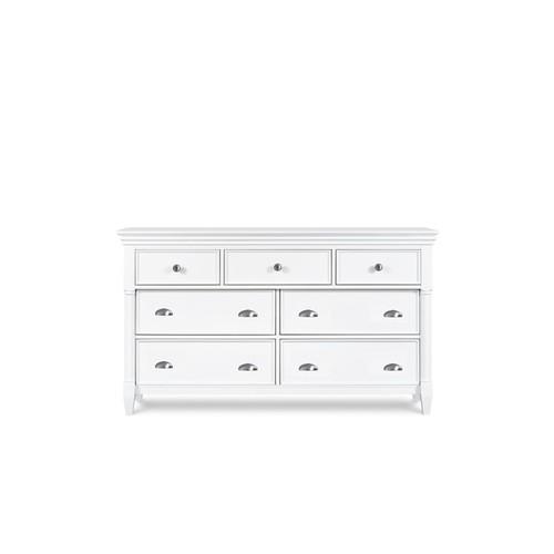 Magnussen Home Furnishings Kasey White Wood Drawer Dresser