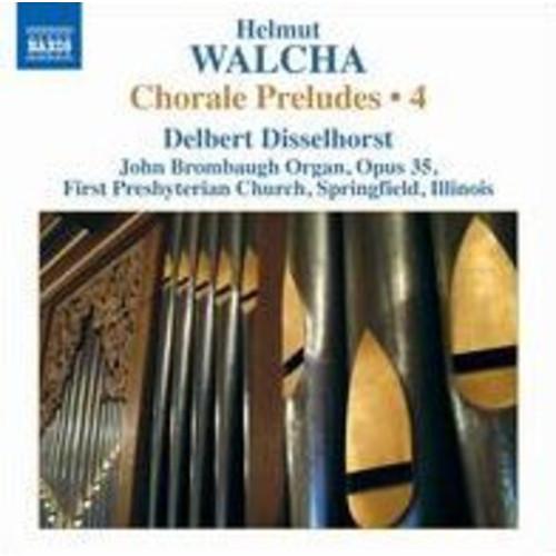 Helmut Walcha: Chorale Preludes, Vol. 4