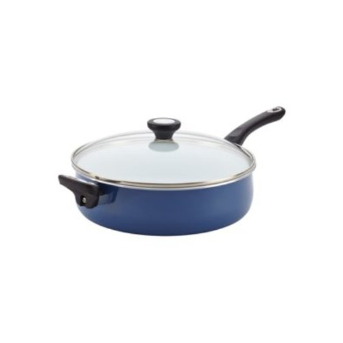 Ceramic Nonstick Cookware Covered Jumbo Cooker- 5-Quart