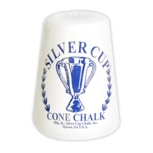 Hathaway Games Silver Cup Cone Talc Chalk Each