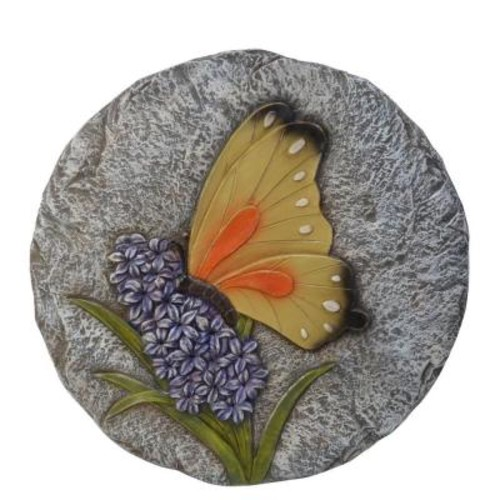 Moonrays Multi-Colored Butterfly Garden Stone