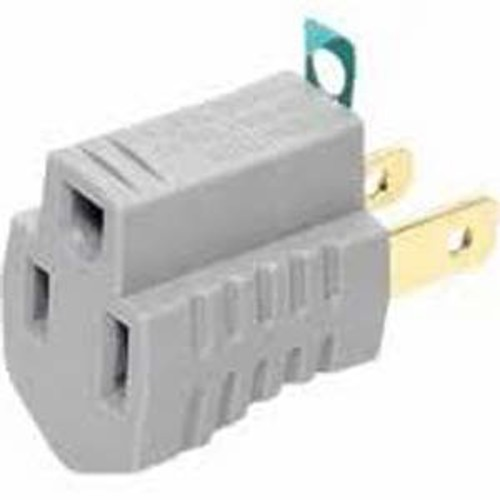 SHAXON PYF-55 (3 to 2) PRONG AC GROUNDING ADAPTER